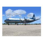 Lockheed Electra Airliner Postcard
