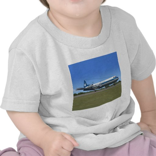 Lockheed Electra Airliner Tshirts