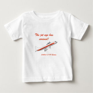 Lockheed Electra Vintage Aircraft Baby T-Shirt