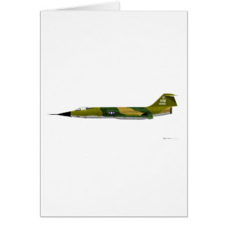 Lockheed F-104 Starfighter Card