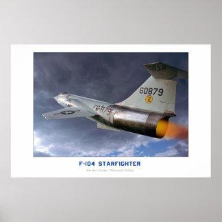 Lockheed F-104 Starfighter Impresiones