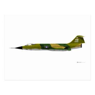 Lockheed F-104 Starfighter Post Card