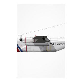 Lockheed HC-130 Hercules Coast Guard Stationery Paper