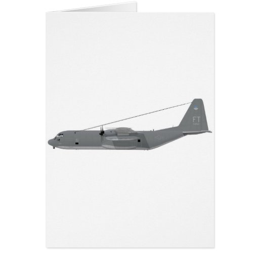 Lockheed HC-130P Search and Rescue Hercules Greeting Card