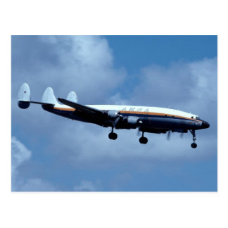 Lockheed L-1049 Super Constellation AMSA Postcard