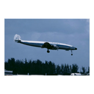 Lockheed L-1049 Super Constellation of Aerochago Poster