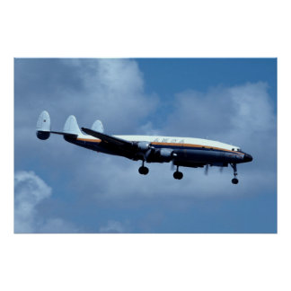 Lockheed L-1049 Super Constellation Poster