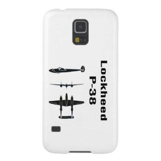 Lockheed P-38 Fundas De Galaxy S5