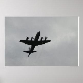Lockheed P-3C Orion. Poster