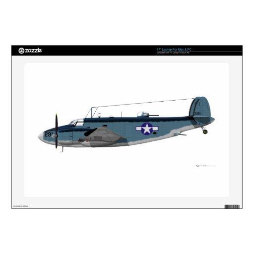 """Lockheed PV-1 Ventura 17"""" Laptop Skins"""