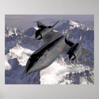 Lockheed Sr-71 Blackbird Poster