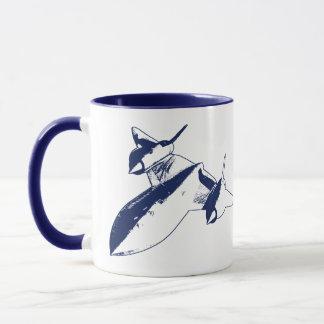 Lockheed SR-71 Ringer Mug - Navy Blue