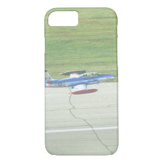 Lockheed T-33 Trainer landing_Military Aircraft iPhone 8/7 Case