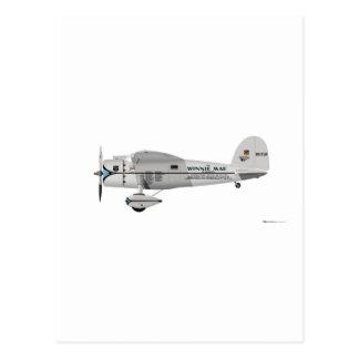 Lockheed Vega Post Card