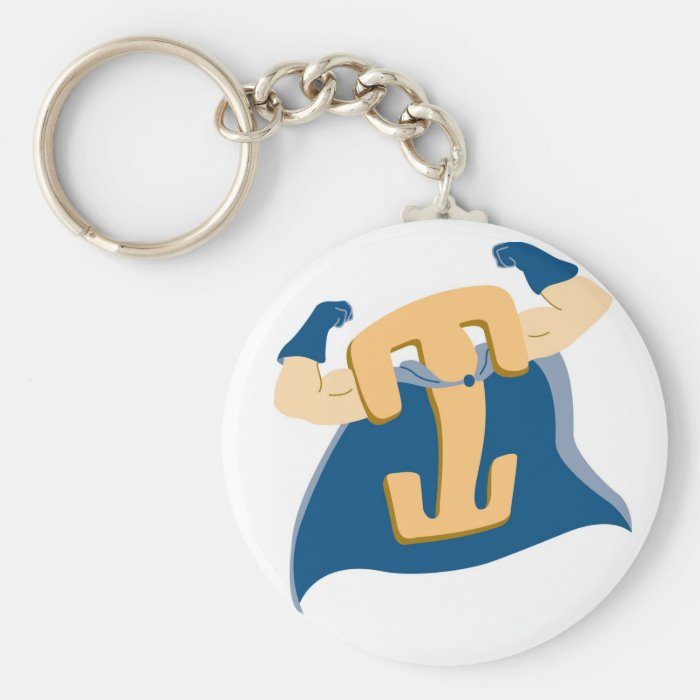 Locking Clip Man Keychain Zazzle