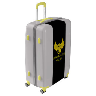 Locking Dragonor House Trunk With Wheels Luggage