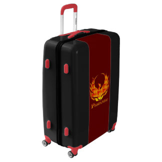 Locking Phoenixter Trunk With Wheels Luggage