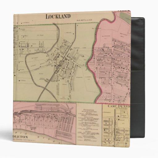 """Lockland, lectura, Ohio Carpeta 1 1/2"""""""