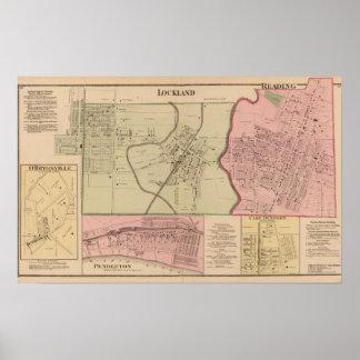 Lockland, lectura, Ohio Póster