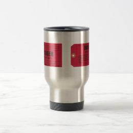Lockout Tag Travel Mug