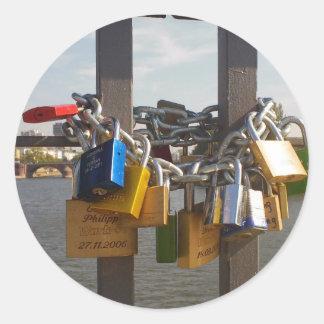 Locks Classic Round Sticker