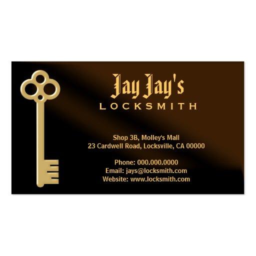 locksmith business card zazzle