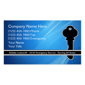 Locksmith Business Cards