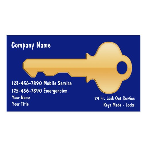 Locksmithing business card templates bizcardstudio locksmith business cards colourmoves Choice Image