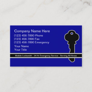 Locksmith business cards templates zazzle locksmith business cards colourmoves