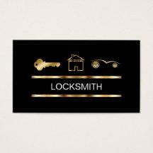 Locksmith business cards templates zazzle colourmoves Choice Image
