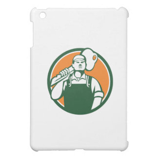 Locksmith Carry Key Shoulder Circle Retro Cover For The iPad Mini