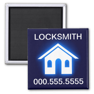 locksmith glow home magnet