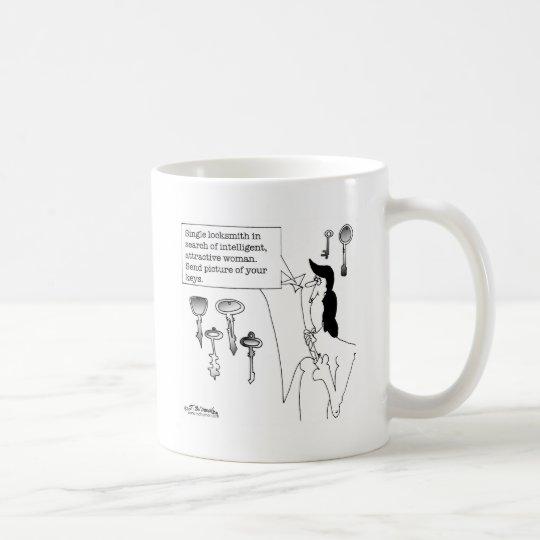 Locksmith In Search of Love Coffee Mug