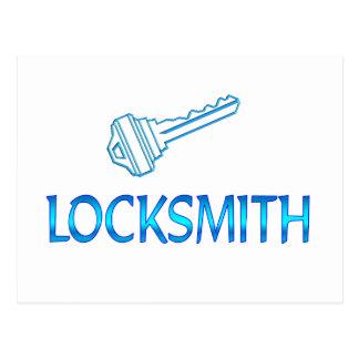 Locksmith Postcard