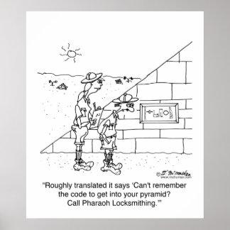 Locksmith to the Pharaohs Print