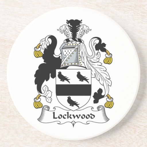Lockwood Family Crest Beverage Coaster