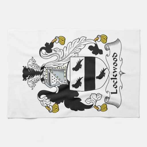 Lockwood Family Crest Towels