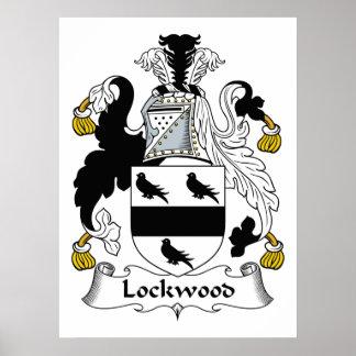 Lockwood Family Crest Print