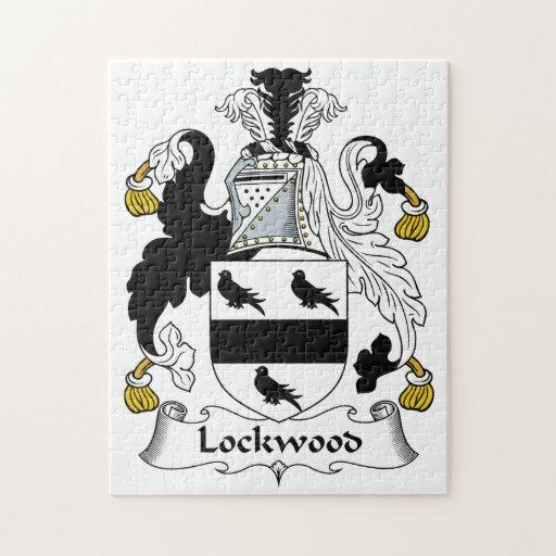 Lockwood Family Crest Puzzle