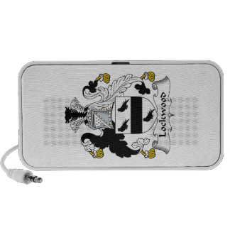 Lockwood Family Crest Travel Speakers