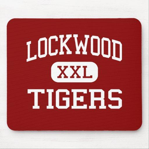 Lockwood - Tigers - High - Lockwood Missouri Mouse Mat