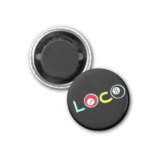Loco 1 Inch Round Magnet