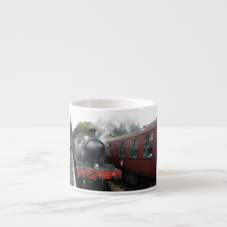 Loco 4160 at Bishops Lydeard station, Somerset Espresso Cup