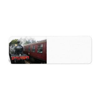 Loco 4160 at Bishops Lydeard station, Somerset Label