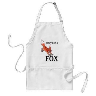 Loco como un delantal del Fox