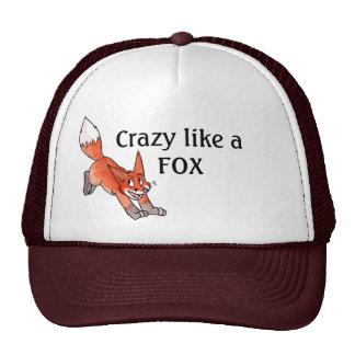 Loco como un gorra del Fox