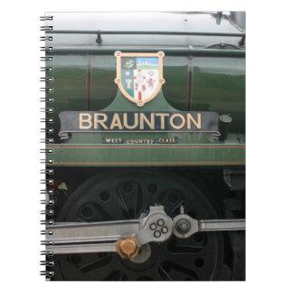 Loco de Braunton en Williton Somerset Cuadernos