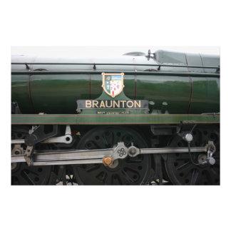 Loco de Braunton en Williton, Somerset Impresión Fotográfica