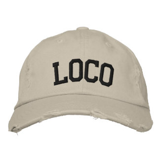 Loco Embroidered Hat Baseball Cap