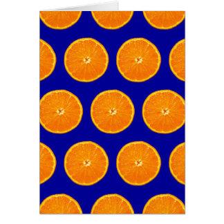 Loco en las clementinas - azul tarjeton